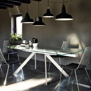 un salotto moderno ed elegante | arredare casa online - Tavolo Allungabile Design Moderno