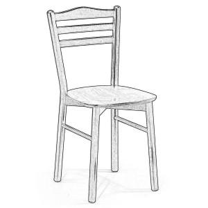 Sedie Grezze In Legno.Come Dipingere Le Sedie Grezze Da Verniciare Arredare Casa Online
